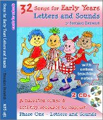 Songs For Early Years Letters and Sounds